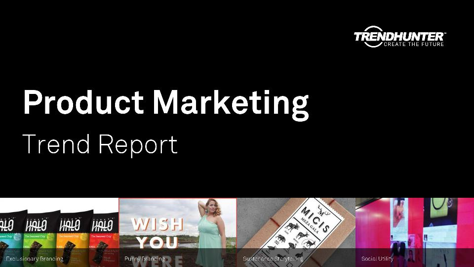 Product Marketing Trend Report Research