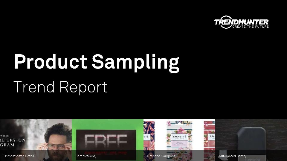 Product Sampling Trend Report Research