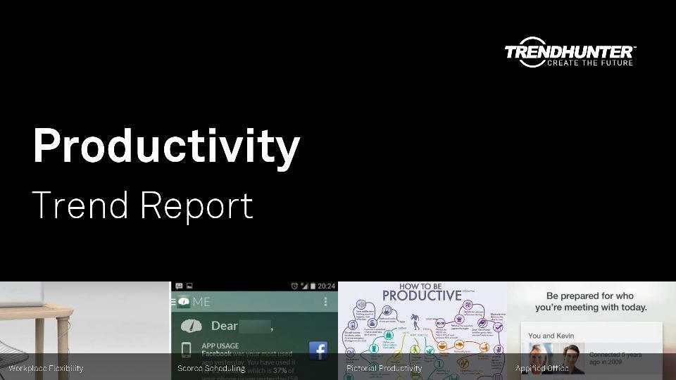 Productivity Trend Report Research