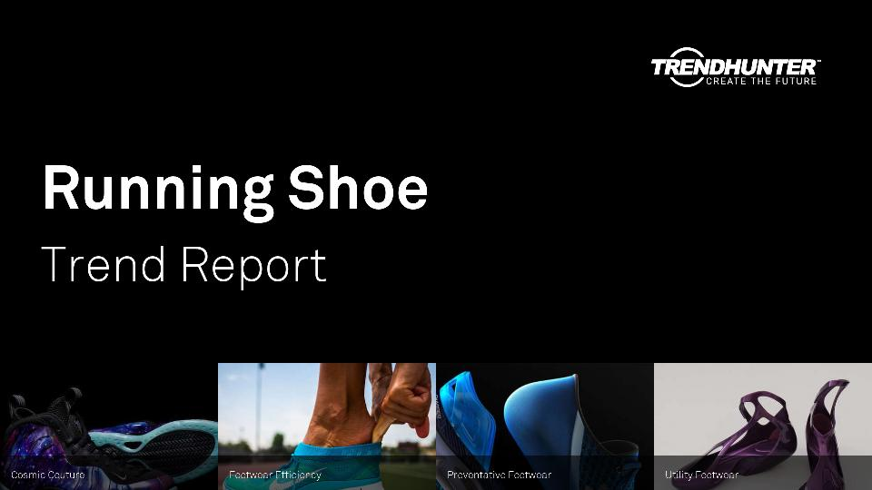 Running Shoe Trend Report Research