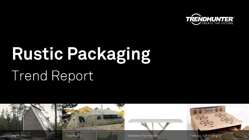 Rustic Packaging Trend Report Research