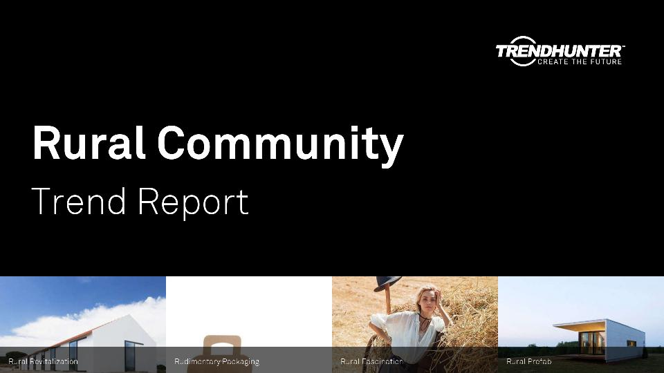 Rural Community Trend Report Research