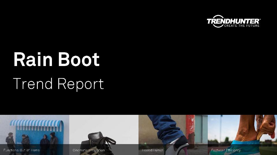 Rain Boot Trend Report Research