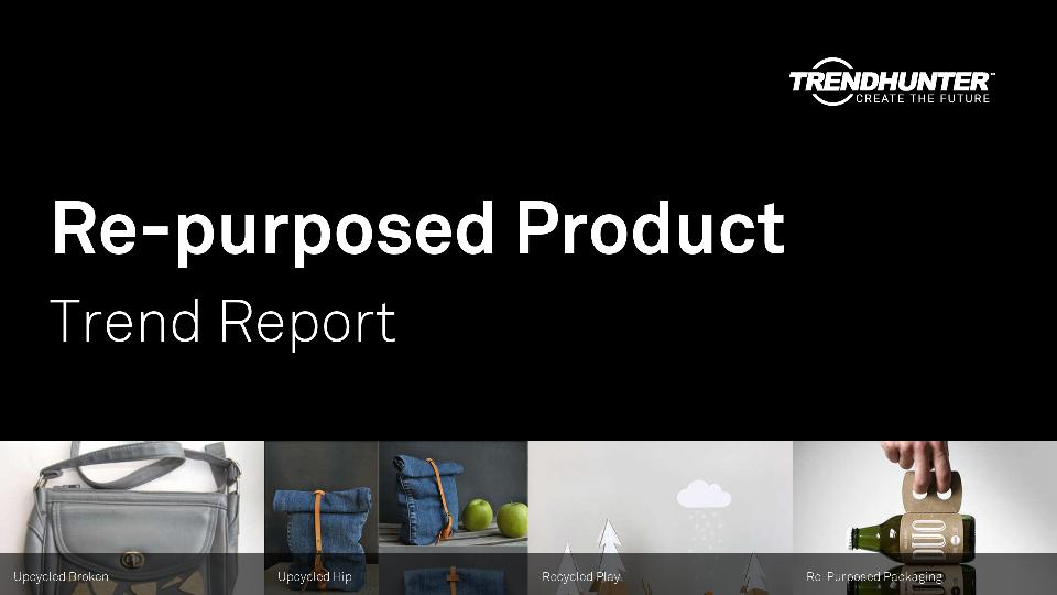Re-purposed Product Trend Report Research