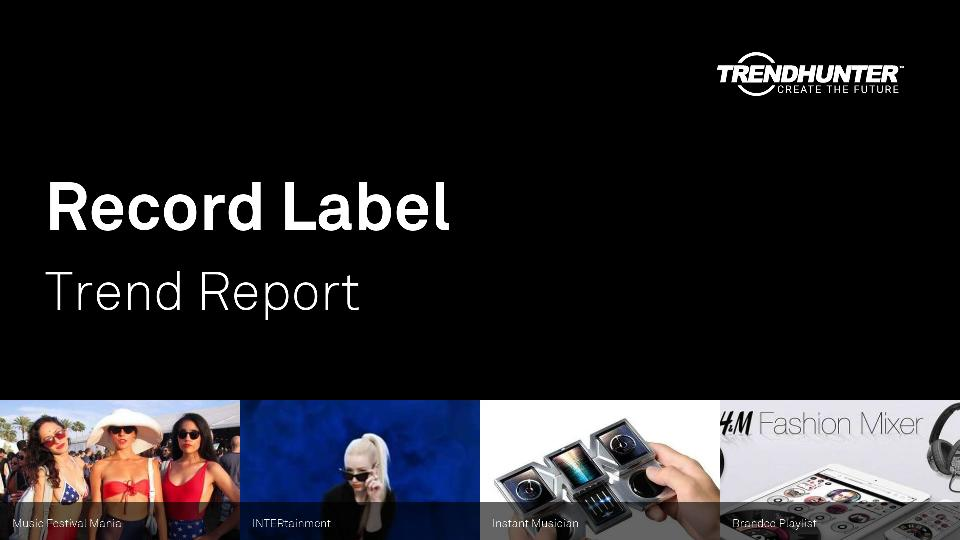 Record Label Trend Report Research