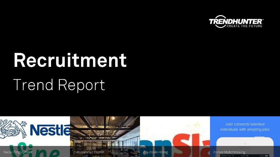 Recruitment Trend Report Research