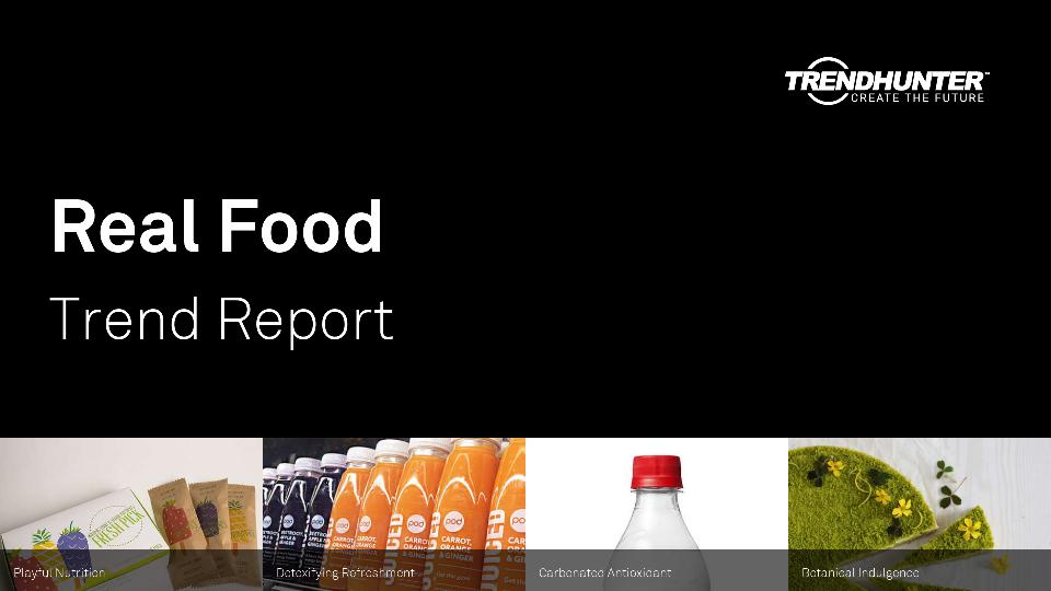 Real Food Trend Report Research