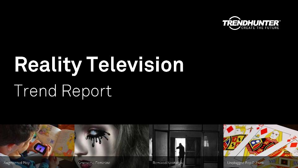 Reality Television Trend Report Research