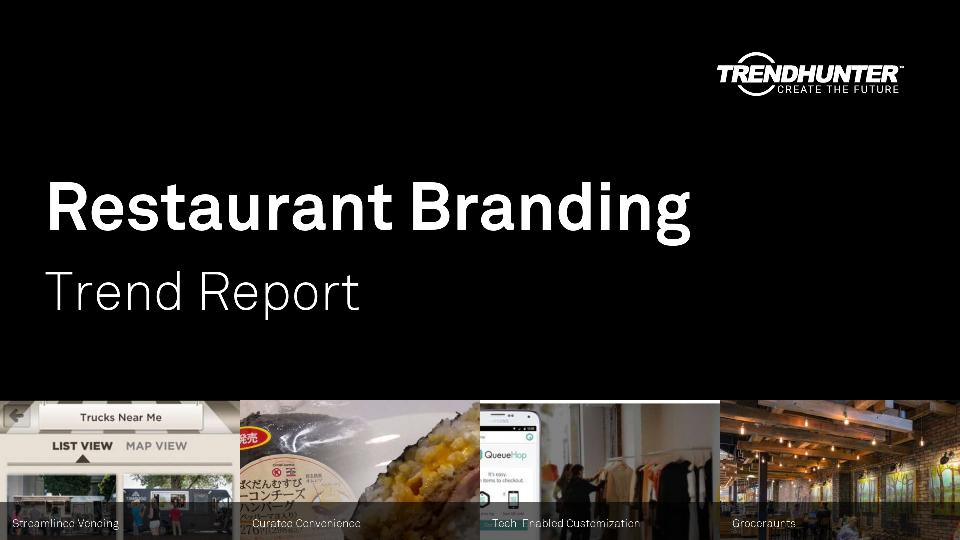 Restaurant Branding Trend Report Research