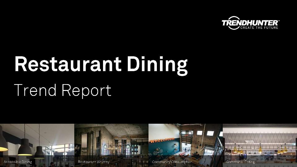 Restaurant Dining Trend Report Research