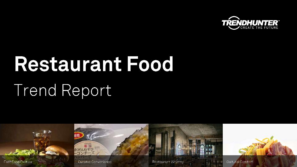 Restaurant Food Trend Report Research