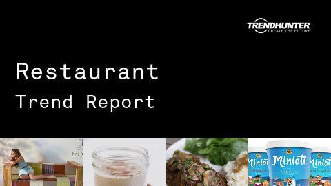 Restaurant Trend Report and Restaurant Market Research