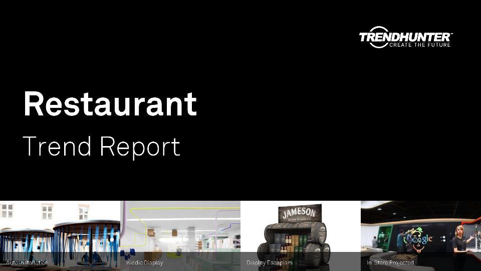 Restaurant Trend Report Research