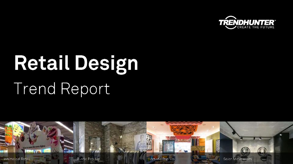 Retail Design Trend Report Research