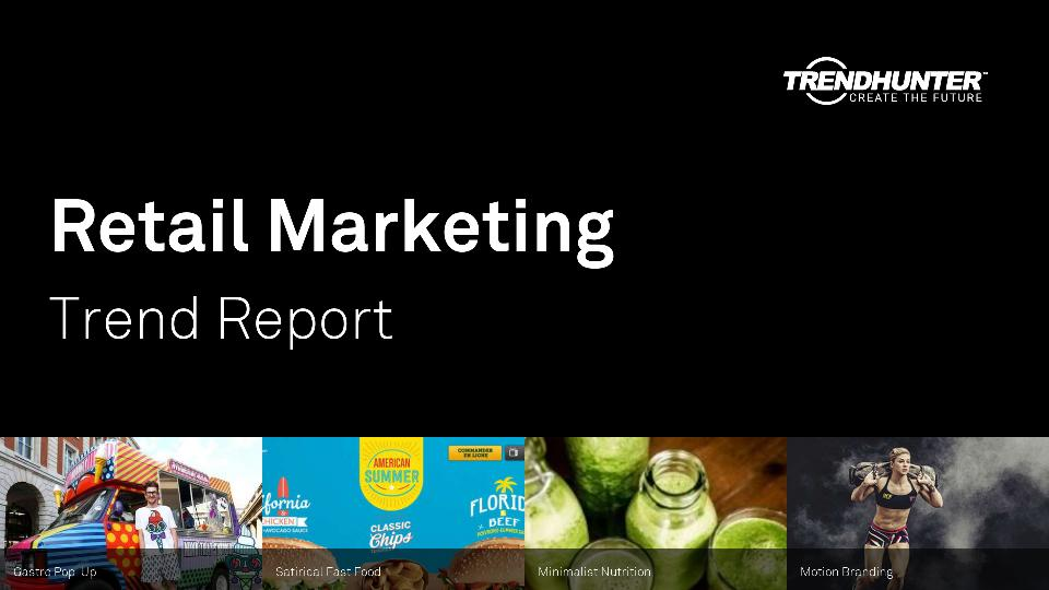 Retail Marketing Trend Report Research