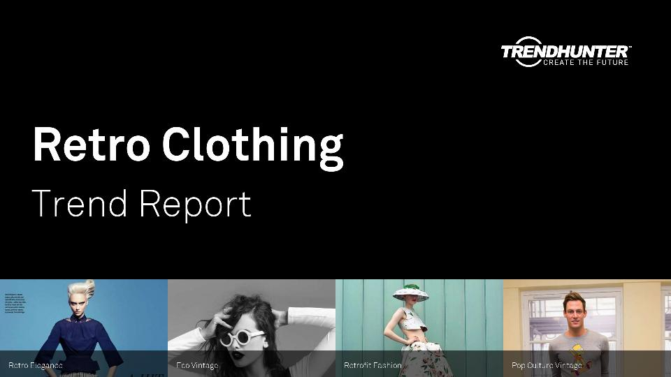 Retro Clothing Trend Report Research