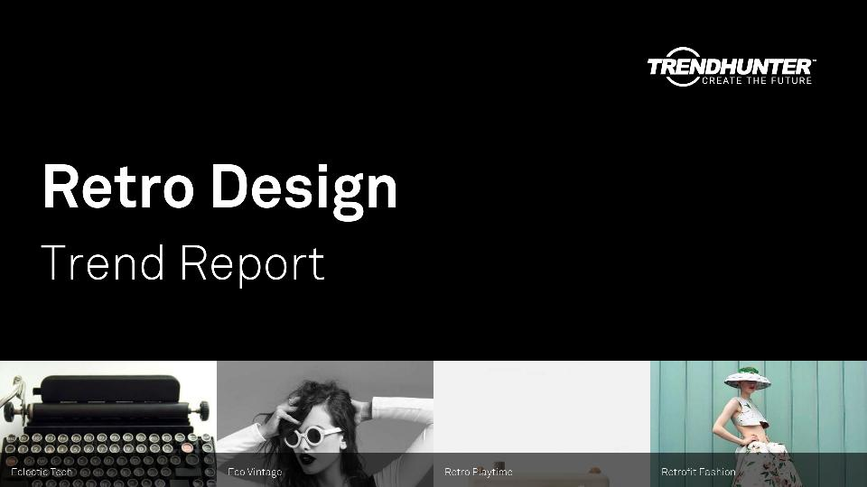 Retro Design Trend Report Research