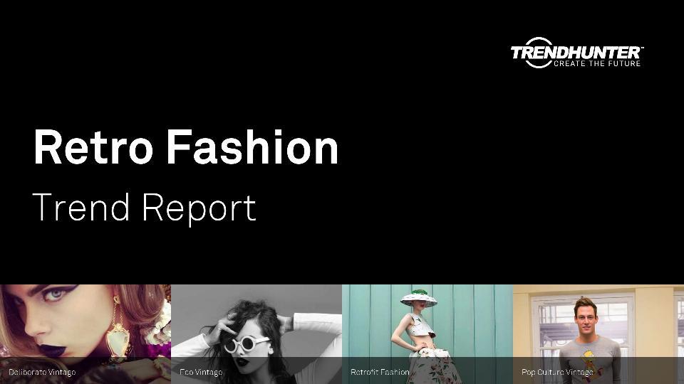 Retro Fashion Trend Report Research