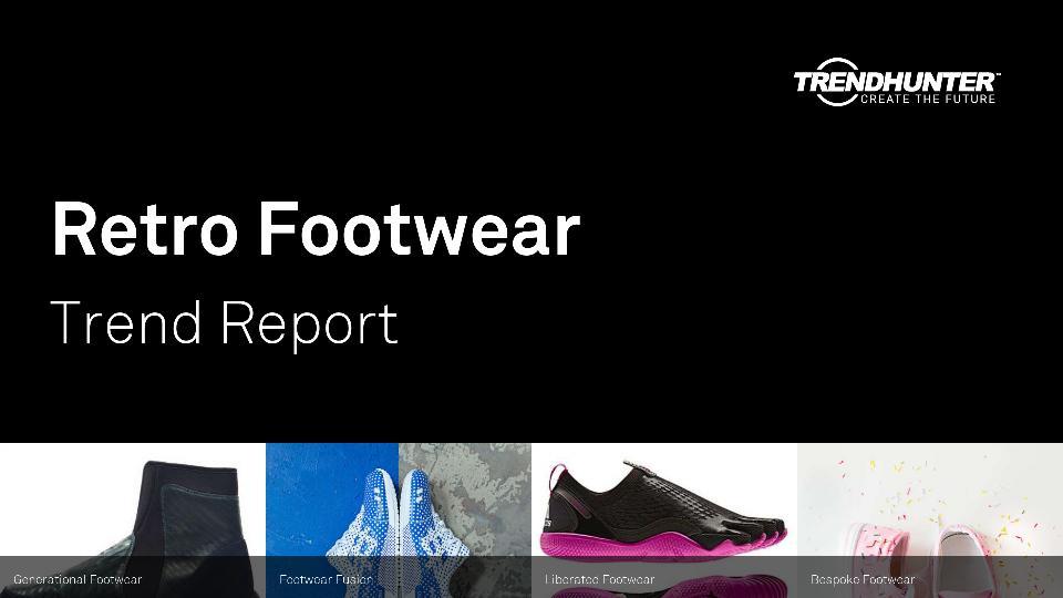 Retro Footwear Trend Report Research