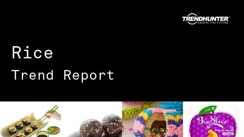 Rice Trend Report and Rice Market Research