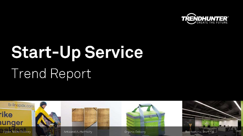 Start-Up Service Trend Report Research