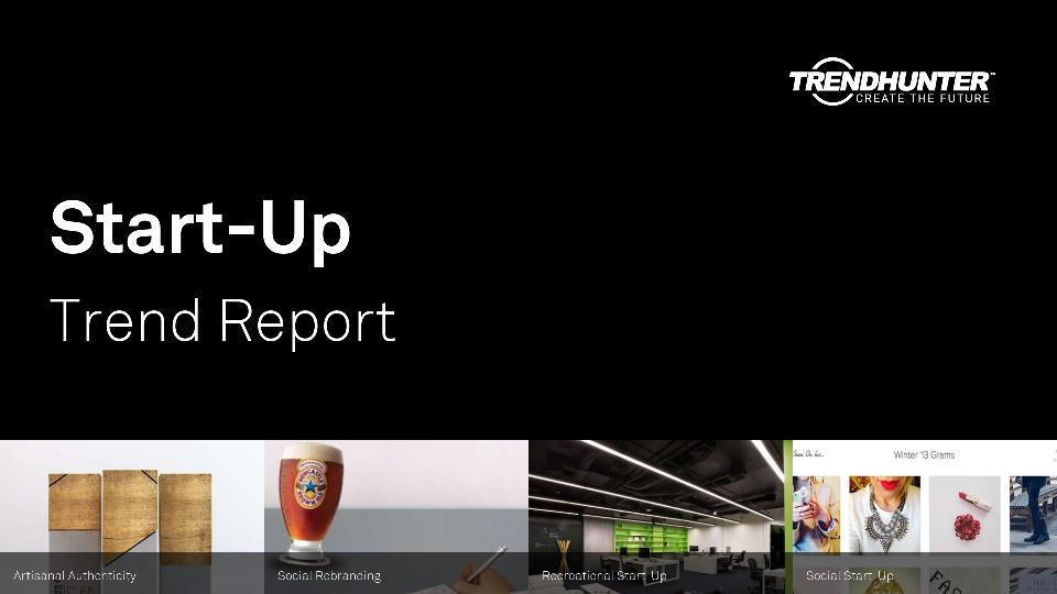 Start-Up Trend Report Research
