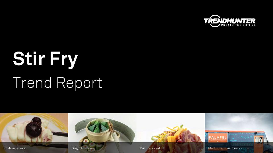 Stir Fry Trend Report Research