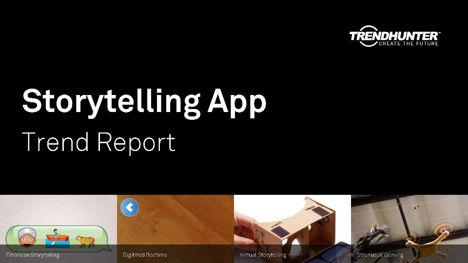 Storytelling App Trend Report Research