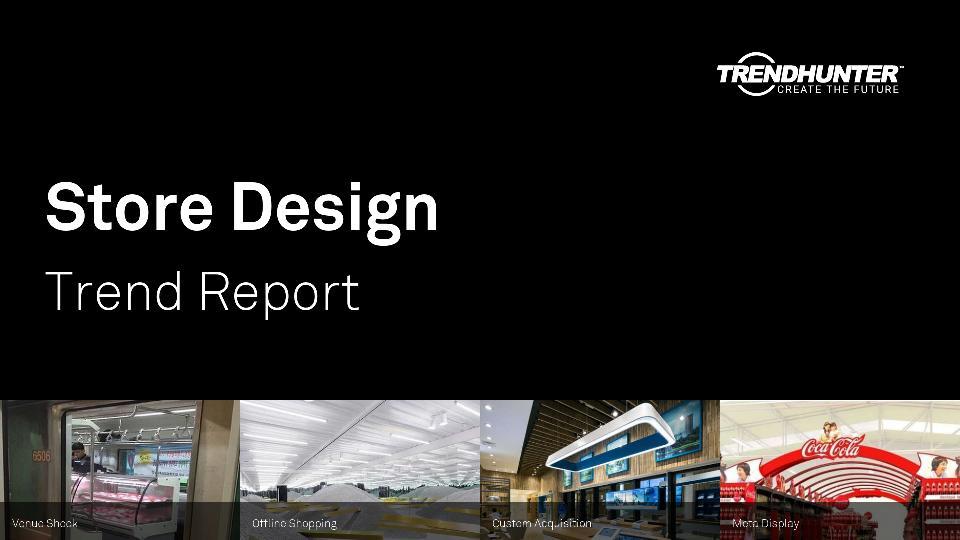 Store Design Trend Report Research