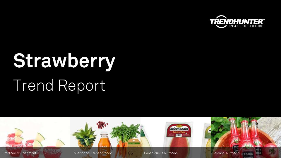 Strawberry Trend Report Research