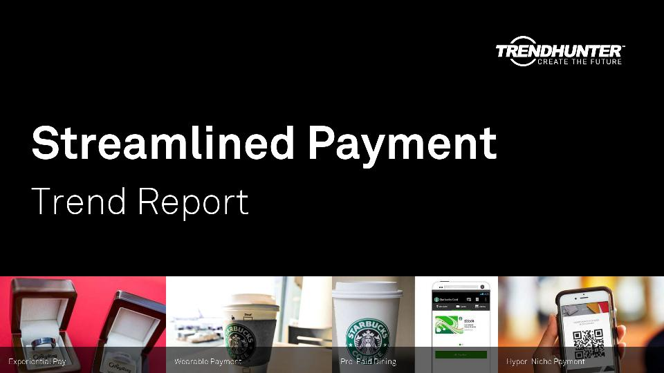 Streamlined Payment Trend Report Research
