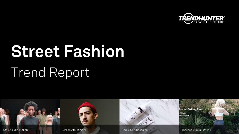 Street Fashion Trend Report Research