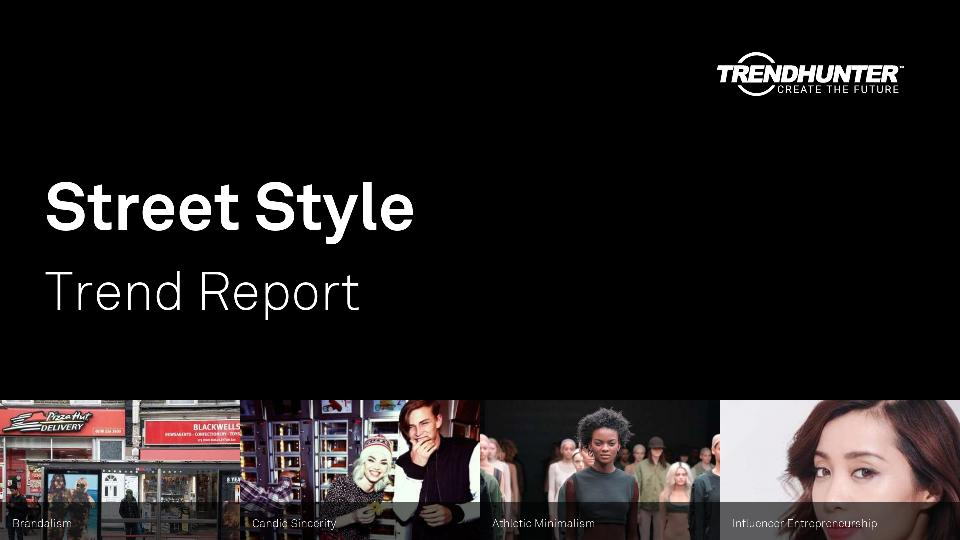 Street Style Trend Report Research