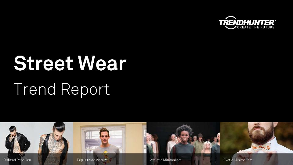 Street Wear Trend Report Research