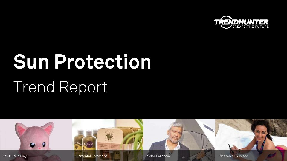 Sun Protection Trend Report Research