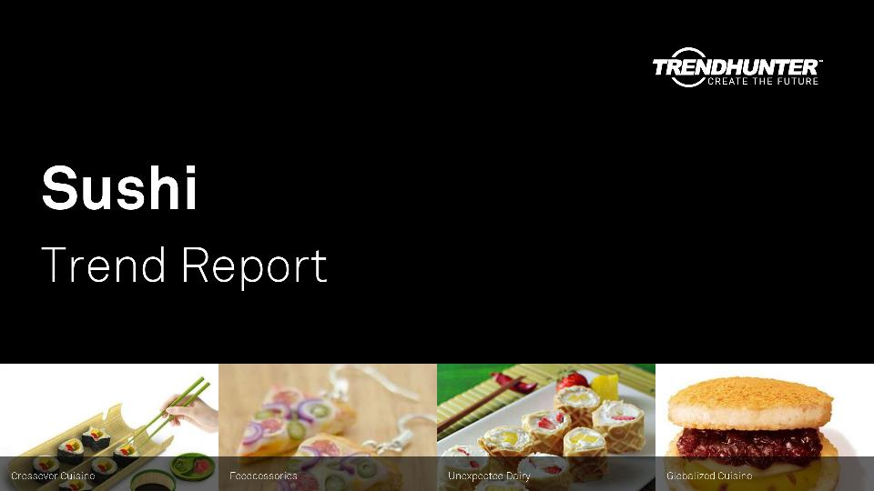Sushi Trend Report Research