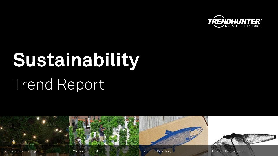 Sustainability Trend Report Research
