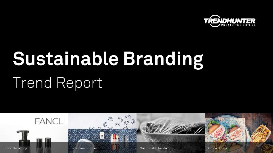 Sustainable Branding Trend Report Research