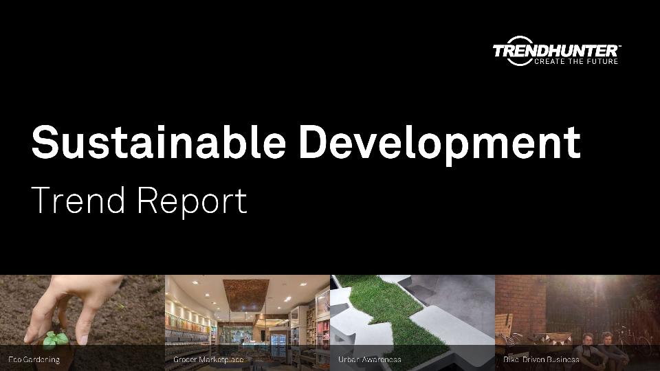 Sustainable Development Trend Report Research