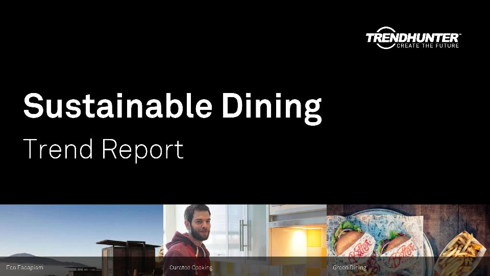 Sustainable Dining Trend Report Research