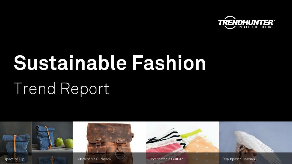 Sustainable Fashion Trend Report Research