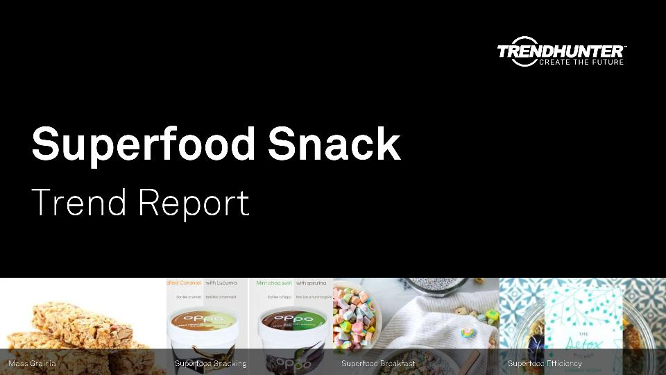 Superfood Snack Trend Report Research