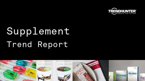 Supplement Trend Report and Supplement Market Research