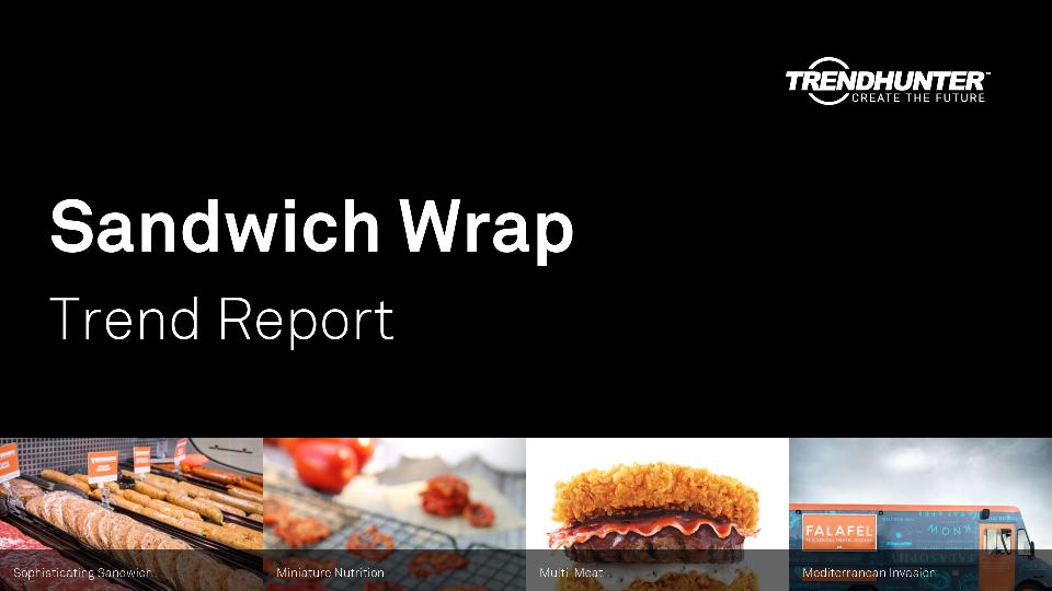 Sandwich Wrap Trend Report Research
