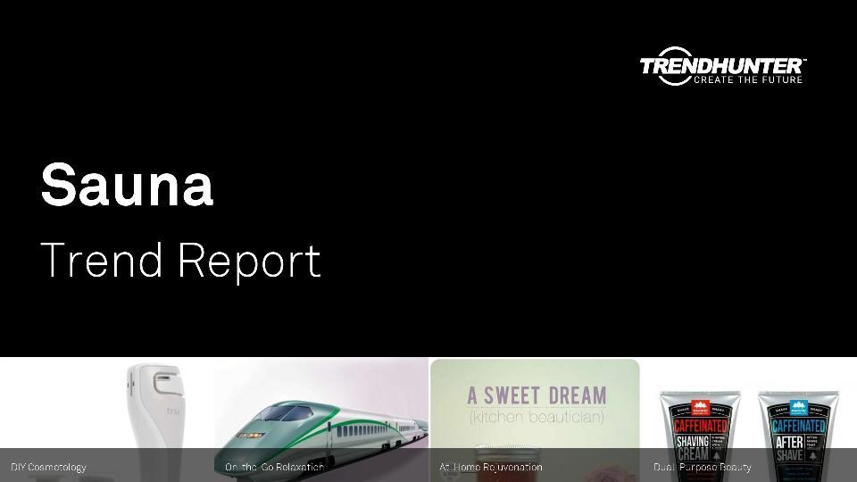 Sauna Trend Report Research