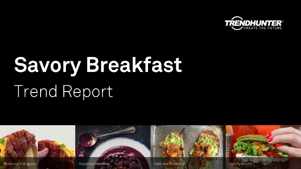 Savory Breakfast Trend Report Research