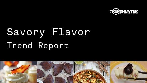 Savory Flavor Trend Report and Savory Flavor Market Research