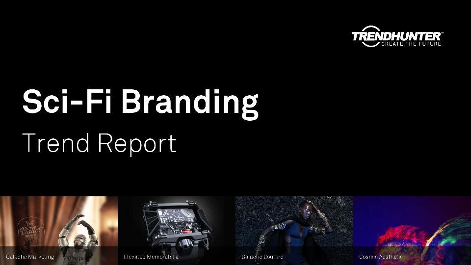 Sci-Fi Branding Trend Report Research