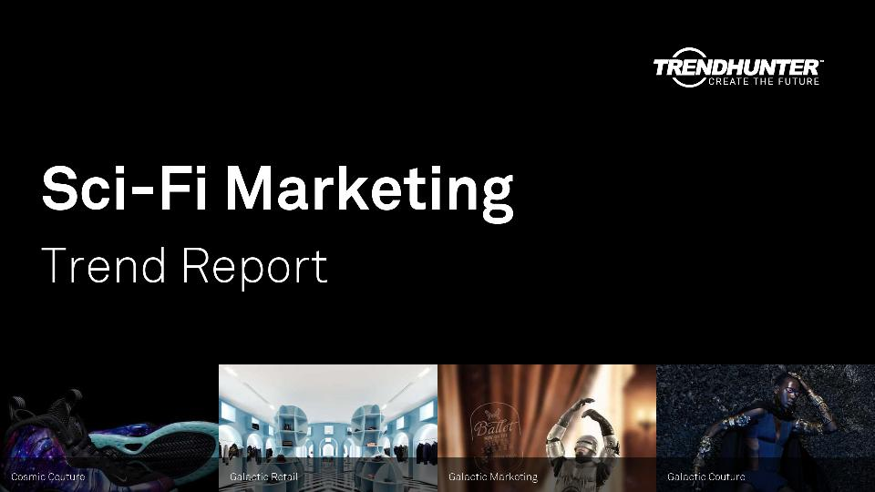 Sci-Fi Marketing Trend Report Research
