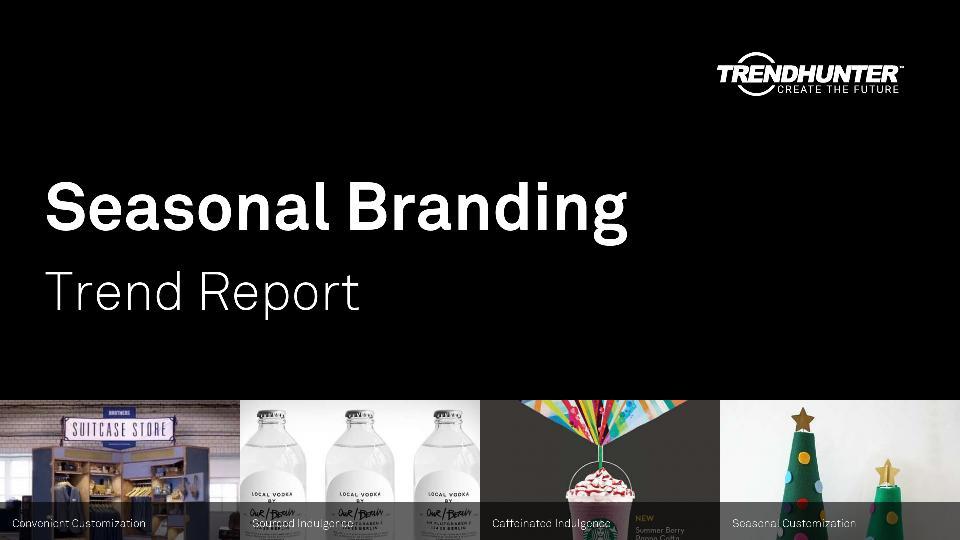 Seasonal Branding Trend Report Research